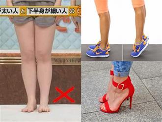 """Một loạt mẹo dành cho người có bắp chân """"cột đình"""" muốn có đôi chân thon gọn nhanh hơn"""