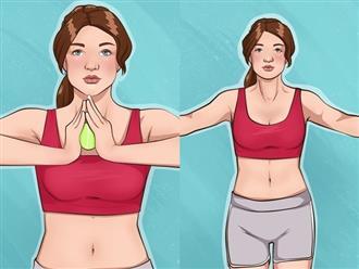 Muốn cánh tay thon gọn và vòng 1 săn chắc, bạn chỉ cần 10 phút cho 7 bài tập đơn giản này
