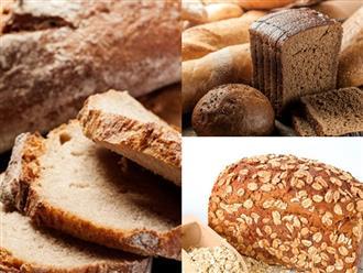 Muốn giảm cân đừng bỏ qua những loại bánh mì này trong thực đơn