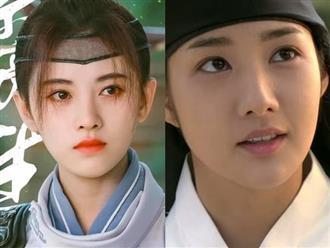 'Mỹ nhân 4000 năm' Cúc Tịnh Y bị netizen chê bai khi giả trai trong phim cổ trang mới, kém xa so với bản gốc của Park Min Young