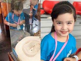 """""""Mỹ nhân đẹp nhất Philippines"""" Marian Rivera khoe lần đầu con gái tới thủy cung, biểu cảm đáng yêu của Zia gây sốt mạng xã hội"""