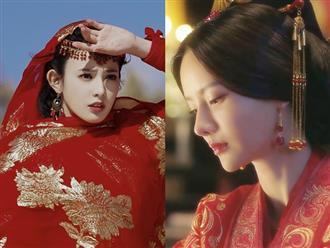 Mỹ nhân Hoa ngữ diện trang phục cổ trang màu đỏ đẹp nhất: Bành Tiểu Nhiễm hay Trương Chỉ Khê?