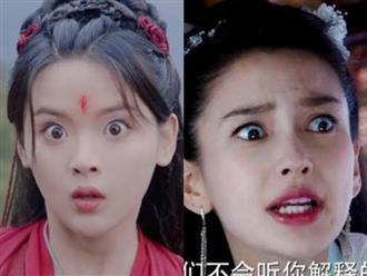 Hoảng hồn với màn trợn ngược mắt của 'mỹ nữ đẹp nhất Trung Quốc', được ví như truyền nhân của 'thánh mặt đơ' Angela Baby