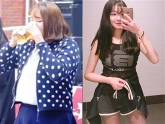 Nàng béo Hàn Quốc 'lột xác' thành hot girl sau khi giảm 44kg