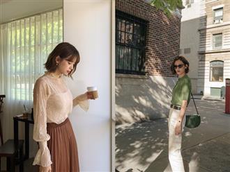 Nàng công sở vào mà xem 4 kiểu áo hô biến vẻ ngoài trở nên sang trọng, quý phái chẳng kém gì mấy cô yêu nữ hàng hiệu