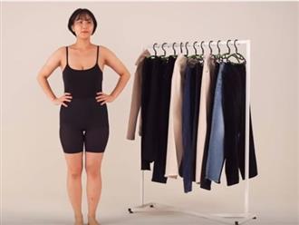 """Nàng mũm mĩm nên chọn kiểu quần nào để đôi chân không biến thành """"khúc giò"""" thô kệch?"""