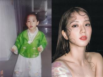 """Netizen Hàn phát sốt với hành trình dậy thì của Jisoo (BLACKPINK): Từ bé đến lớn chưa từng biết """"xấu"""" là gì, bảo sao được gọi là Hoa hậu"""