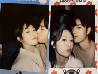 Netizen xứ Trung dậy sóng trước bức ảnh Tiêu Chiến hôn má Dương Tử, chỉ là đạo cụ hay 'phim giả tình thật'?