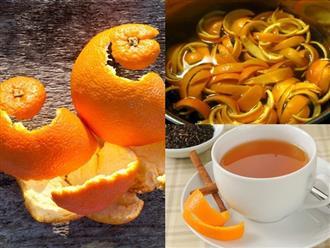 Nếu biết trước những tác dụng tuyệt vời này của vỏ cam, bạn sẽ không bao giờ vứt chúng đi nữa