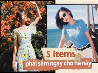 Nếu các nàng muốn nâng tầm phong cách rực rỡ cho mùa hè, phải sắm ngay những items này đi