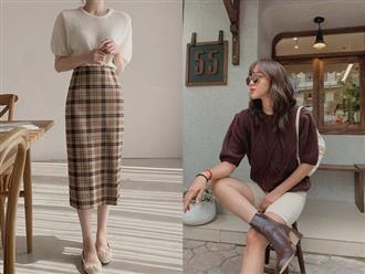 Ngắm 10 mẫu áo len cộc tay xinh chuẩn Hàn này, bạn sẽ muốn sắm bằng hết để diện dần