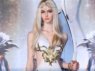 Ngắm vẻ nóng bỏng của 'búp bê sống' được mệnh danh là nữ thần trong game