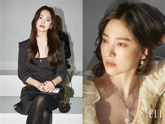Nghịch lý Song Hye Kyo: Làm mẫu thời trang thì bị chê, quảng bá trang sức lại sang như bà hoàng