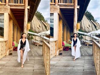Ngoài 60, mẹ ruột Hồ Ngọc Hà vẫn tự tin diện bikini, khoe nhan sắc trẻ trung bất chấp tuổi tác