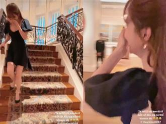 """Ngọc Trinh lại gây tranh cãi khi """"chửi thề"""" trong clip tạo dáng sang chảnh"""