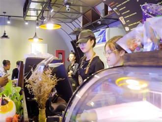 'Nữ hoàng nội y' Ngọc Trinh giả dạng nhân viên bán cà phê và cái kết bất ngờ