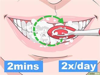Nha sĩ khuyên bạn nên duy trì 4 thói quen này thường xuyên để giúp bảo vệ hàm răng luôn khỏe đẹp
