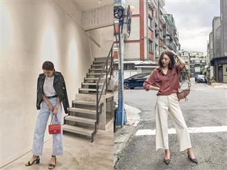 Nhấn mạnh: Quần jeans không chỉ bụi bặm mà còn rất dịu dàng, sang chảnh nếu bạn diện 4 kiểu dáng sau