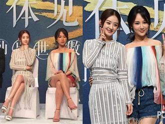 Nhan sắc thật của Dương Tử và Triệu Lệ Dĩnh khi không photoshop: Bà xã Phùng Thiệu Phong lấn át nữ chính 'Cá mực hầm mật'