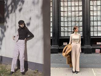 Nhìn chung, dân sành điệu đang diện quần trắng theo 3 cách sang xịn đến nỗi bạn sẽ muốn copy đi copy lại suốt mùa đông