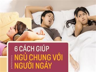 Những cách giúp bạn vượt qua được nỗi khổ khi phải ngủ chung với người ngáy to