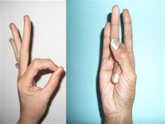 Những động tác yoga ngón tay đơn giản giúp xua tan bệnh tật một cách thần kì