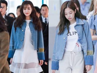 Những pha đọ visual nảy lửa giữa Jennie - Địch Lệ Nhiệt Ba: Đụng từ trang phục cho đến kiểu tóc, khó phân định ai đẹp hơn
