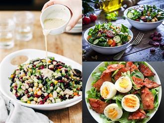 Những thực phẩm nên và không nên sử dụng làm món salad trong giai đoạn Detox thay thế các bữa ăn hoàn toàn