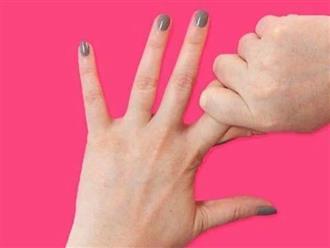 Những vị trí xoa bóp trên bàn tay có thể giúp ngăn chặn 7 căn bệnh ai cũng có thể mắc