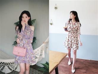 """Những xu hướng váy hoa hứa hẹn """"gây bão"""" trong mùa hè 2019, cứ mặc vào là chuẩn xinh"""