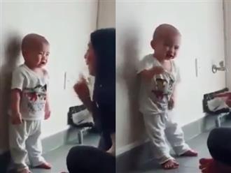 Nổi tiếng dịu dàng, nhân hậu nhưng nhìn cách Phi Nhung dạy dỗ con nuôi gần 1 tuổi ai cũng choáng