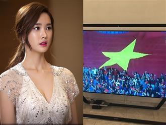 """Nữ diễn viên 'Hotel King"""" - Lee Da Hae bất ngờ đăng ảnh chúc mừng đội tuyển Việt Nam sau trận thắng Jordan"""