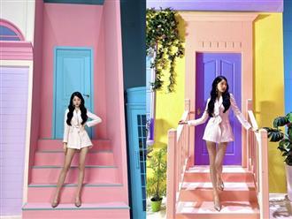 Nữ thần tượng sở hữu đôi chân dài nhất Kpop gây bão mạng, vượt mặt thánh body Lisa (BLACKPINK)