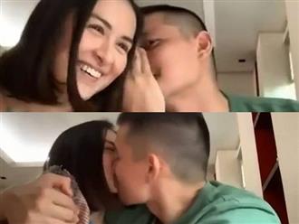 """Ông xã tài tử của """"mỹ nhân đẹp nhất Philippines"""" Marian Rivera công khai khóa môi vợ đầy tình tứ"""