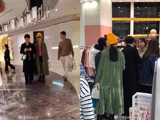 Phạm Băng Băng được người đàn ông lạ hộ tống đi mua sắm tại Nhật Bản