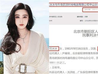 Phạm Băng Băng thắng kiện nhãn hàng sử dụng hình ảnh của cô trái phép để quảng cáo