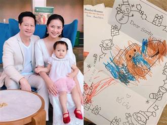 Phan Như Thảo tiết lộ điều ước Giáng sinh đặc biệt của con gái nhưng gây chú ý lại là bình luận của chồng đại gia