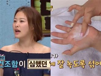 Phụ nữ Hàn có làn da mướt mịn đều nhờ vào nguyên liệu này pha lẫn với sữa rửa mặt