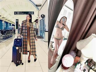 Phụ nữ U40 mấy ai được như Lệ Quyên: Tự tin khoe dáng với bikini, yêu chiều bản thân bằng việc dát kim cương kín người