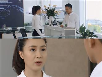Preview 'Hoa hồng trên ngực trái' tập 32: Sau khi được Bảo tỏ tình, Khuê bất ngờ xin nghỉ việc