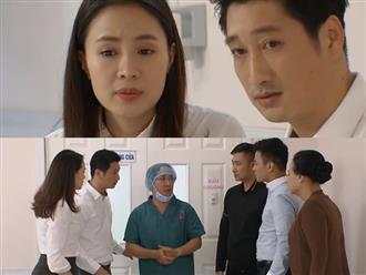 Preview 'Hoa hồng trên ngực trái' tập 45: Phẫu thuật tim thất bại, con gái Khuê nguy kịch