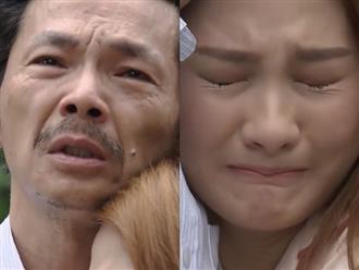 Preview 'Về nhà đi con' tập 70: Khán giả xót xa nhìn cảnh ông Sơn khóc nghẹn đón con gái về nhà