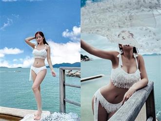 Puka khiến dân tình 'xịt máu mũi' với màn khoe body căng đét cùng bikini, vòng 1 bốc lửa là tâm điểm chú ý