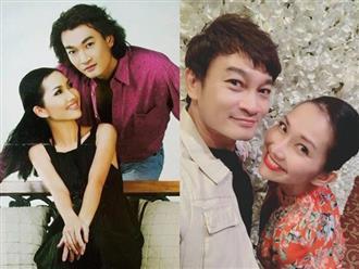 Quốc Thái bồi hồi chia sẻ ảnh chụp cùng Kim Hiền trong phim 'Hương phù sa', khán giả lại được dịp hồi tưởng tuổi thơ