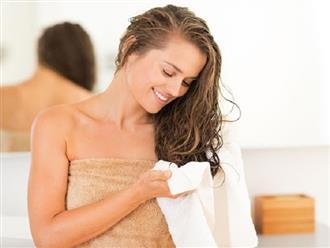 Quy tắc dùng kem xả để mái tóc bồng bềnh, không bị bết