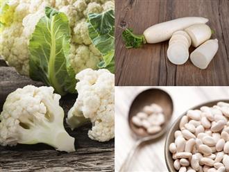 Rau củ quả màu trắng: Loại thực phẩm chứa đầy lợi ích sức khoẻ mà không phải ai cũng biết