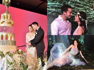 Rò rỉ loạt ảnh cưới đẹp như 'mỹ nhân ngư' của Chung Hân Đồng khiến ai nấy đều trầm trồ