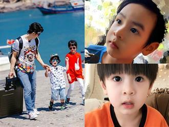 Rò rỉ những hình ảnh hiếm hoi của con trai Ngô Tôn: 'Giống bố như đúc', tương lai là nam thần vạn người mê