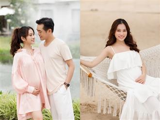 Sara Lưu khoe cận cảnh bụng bầu mang song thai, tiết lộ lý do giữ kín tin vui suốt 4 tháng