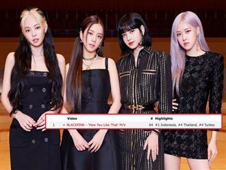 Sau 6 ngày ra MV, BLACKPINK vẫn xưng vương dẫn đầu lượt xem thế giới trong 24 giờ, trụ vững #1 trending Youtube ở Hàn, Mỹ và nhiều hơn thế